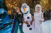 Airport transforms into Frozen 2 themed wonderland