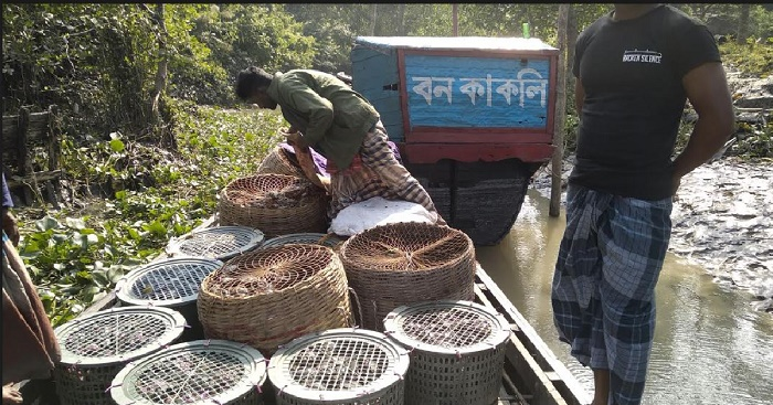 23 fishermen held; 29 maunds crab seized in Bagerhat