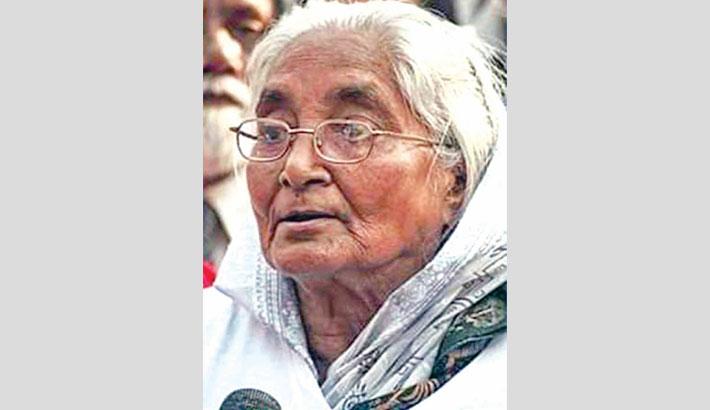 Language hero Rawshan Ara Bachchu dies