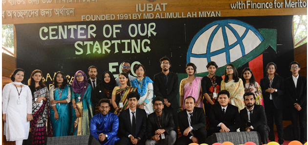 IUBAT Economics Society organised a get-together program