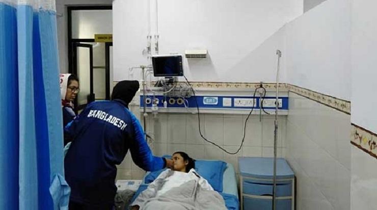 SA Games: Gold medalist Marjan Aktar Priya hospitalised after sustaining injury