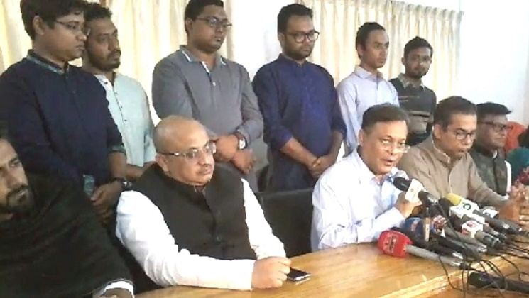BNP's courtroom chaos tantamount to 'contempt of court': Hasan