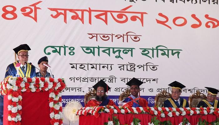 Implement master plans to make Bangladesh prosperous: President