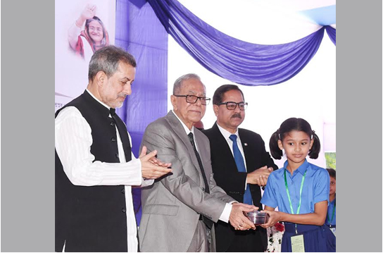 President asks affluents to assist midday meal programme for kids