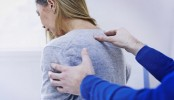 What is causing of neck pain?