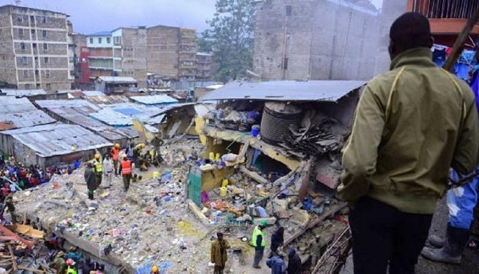 Building collapses in Kenya:  Some feared trapped