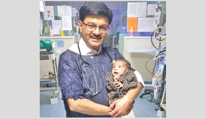 Newborn found alive in shallow grave now thriving