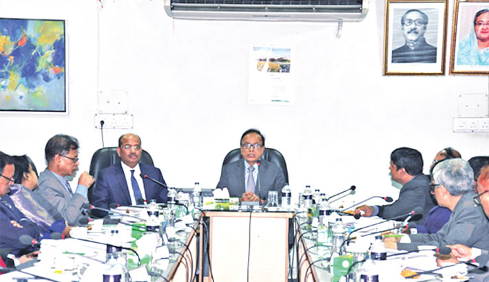 BKB holds review meeting