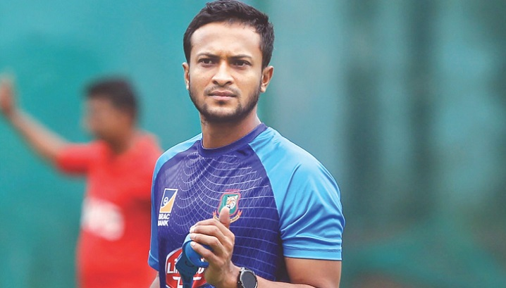 The Bharat Army plays foul with Shakib!