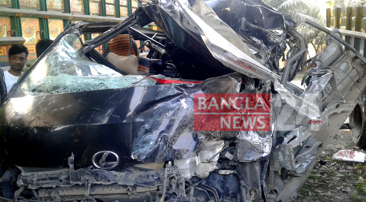 3 of a family killed in Tangail road crash