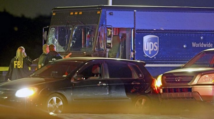 4 killed after US jewelry heist leads to carjacking, chase, shootout