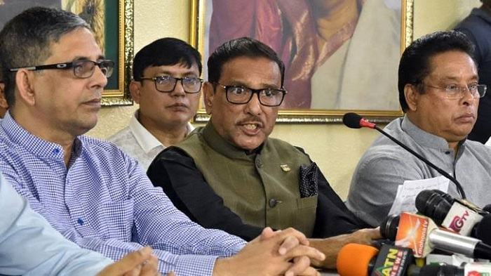 Quader hints major changes in top leadership of Awami League