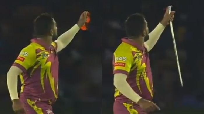 South Africa's bowler performs magic after taking wicket (Video)