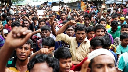 Government locks up Rohingya rights group office