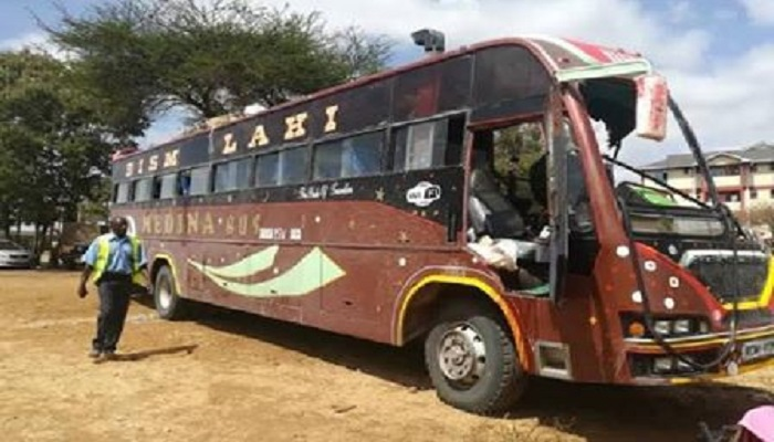 Eight killed in Kenya bus attack