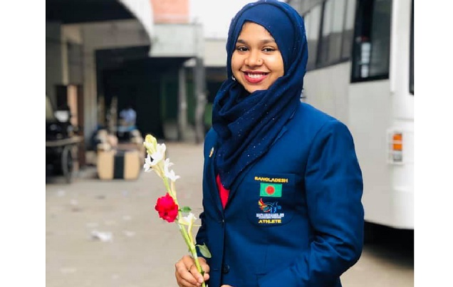 SA Games: Fatema secures first gold in fencing for Bangladesh