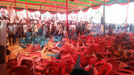 Awami League's council begins amid clashes in Chtaogram