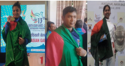 13th SA Games: Weightlifting, fencing bring more glory for Bangladesh
