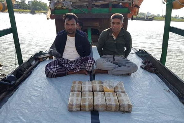 1 lakh Yaba recovered from fishing trawler in Bay