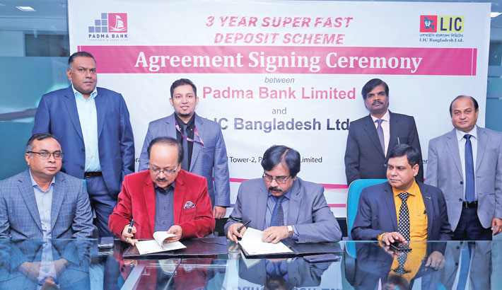 LIC signs deal with Padma bank