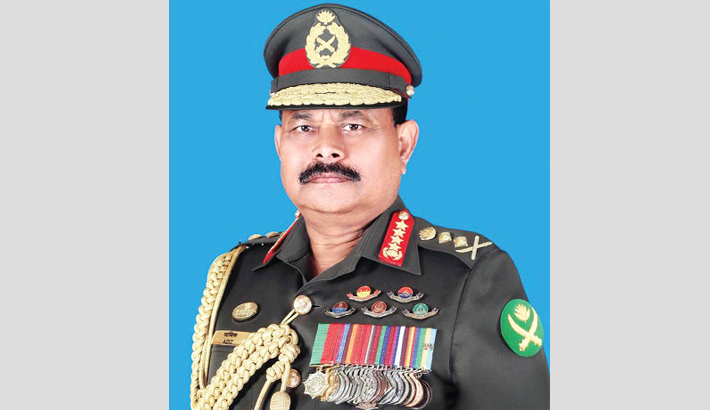 Army chief to leave for Myanmar today