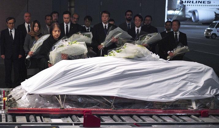 Body of slain doctor arrives in Japan after Afghan shooting