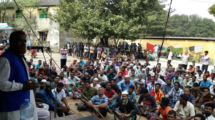 Jute mill workers threaten to go on hunger strike Tuesday