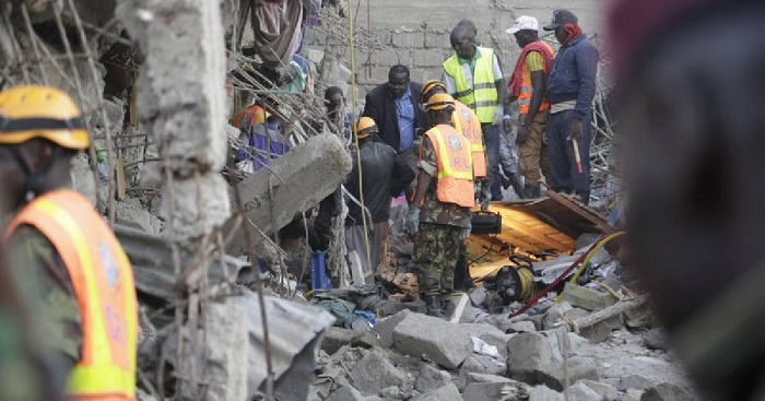Kenya: 2 survivors found 2 days after building collapse