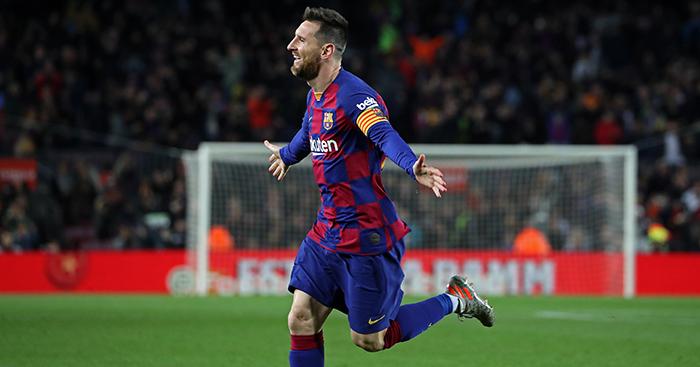 Messi hat-trick breaks La Liga record as Barcelona  put five past Mallorca