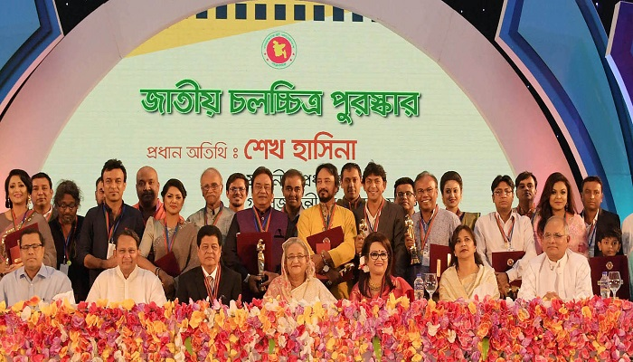 PM distributes National Film Award among winners