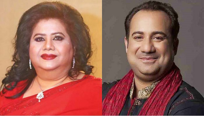 Rahat Fateh Ali Khan sings with Runa Laila's music direction