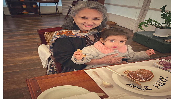 Sharmila Tagore's 75th birthday was made special by Soha