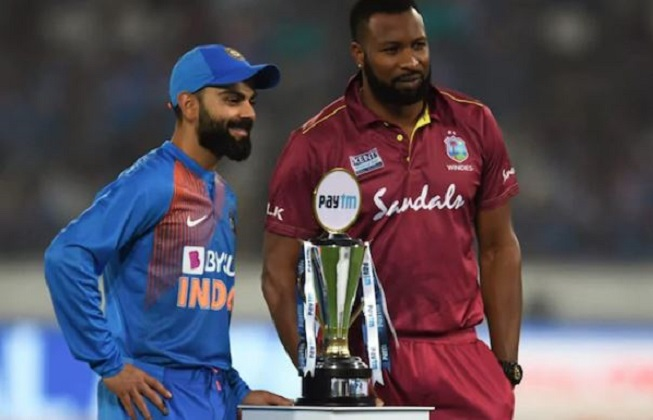 West Indies send India to bat first in 2nd T20I