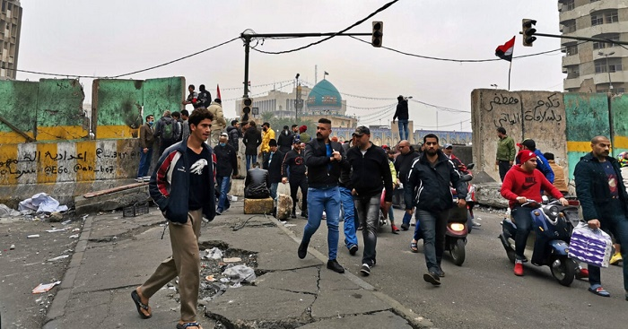 Iraqi officials raise toll to 25 killed in Baghdad bloodshed
