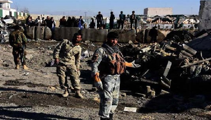8 soldiers killed in suicide bombing in southern Afghanistan