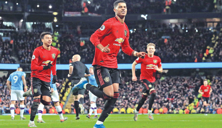 United win Manchester derby