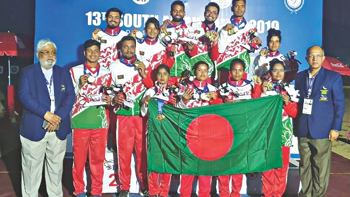 It was day of archery in South Asian Games