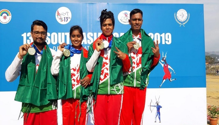 SA Games: Bangladesh clinch record 19 gold medals; all 10 in archery