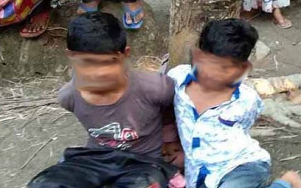 5th graders tied to tree, tortured in Pirojpur; 2 held