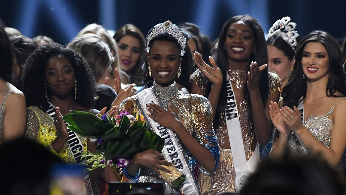 Miss South Africa Tunzi wins 2019 Miss Universe crown