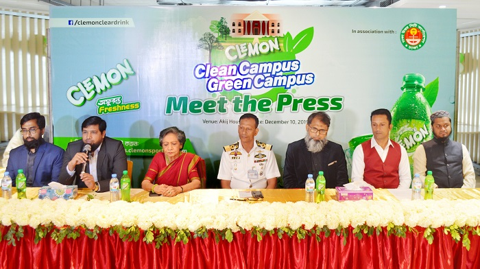 Clemon brings clean campus green campus competition