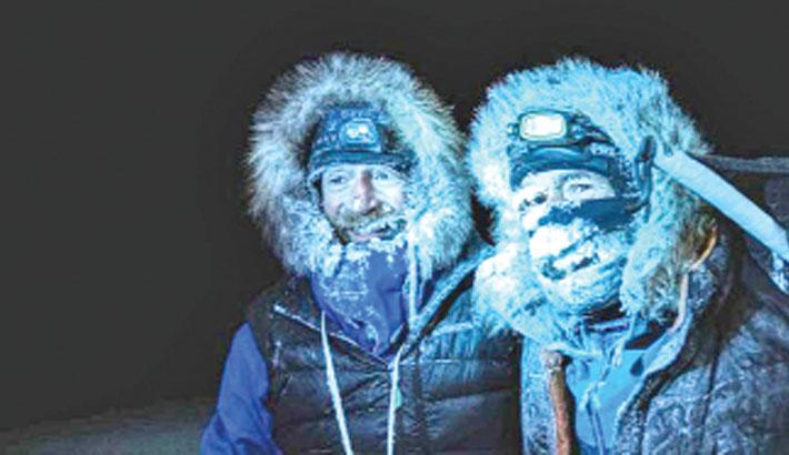 North Pole explorers complete epic trek