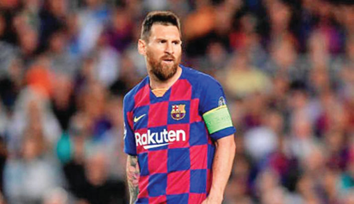 Messi to miss Barca's Champions League trip to Inter
