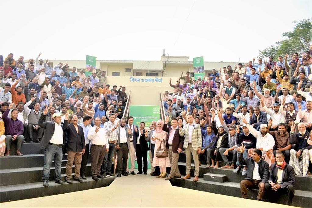 Nestle shared knowledge with farmers for sustainable agricultural practices