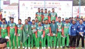 Bangladesh clinch gold in men's cricket
