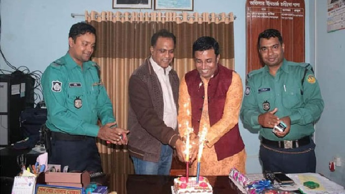 Birthday of expelled Jubo League leader celebrated at OC's room