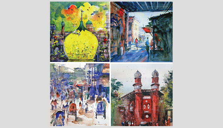 Painting exhibition 'Tales of Old Dhaka' begins at AFD today