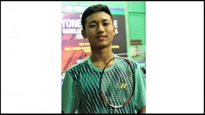 Bangladesh Int'l Badminton: Gourab reaches 2nd round of men's singles