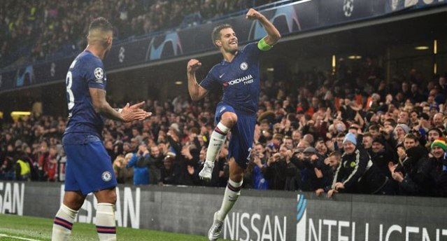 Chelsea edge past Lille and into Champions League last 16