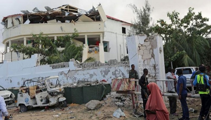 Five killed in hotel attack in Somali capital: police